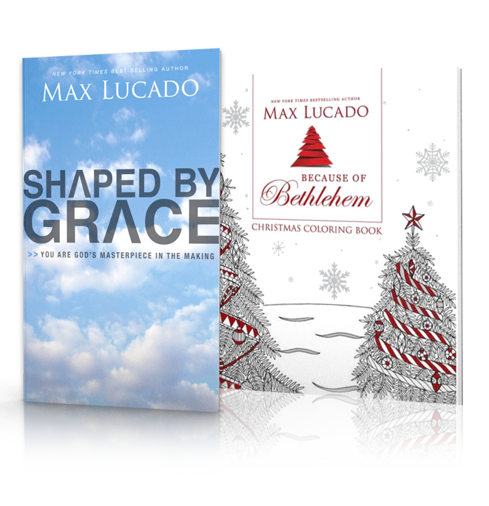 Because of Bethlehem by Max Lucado is available in print and digital formats